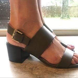 MICHAEL Michael Kors Shoes - Michael Kors Angeline Heels in Olive Green